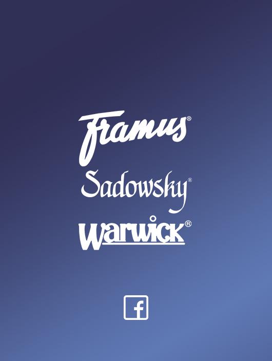 Framus Sadowsky Warwick